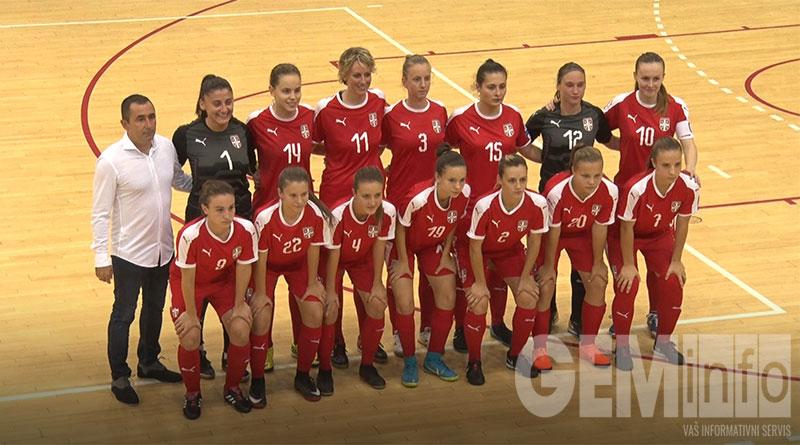 Ukrajina ubedljiva protiv Srbije u ženskom futsalu   GEM info