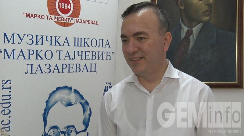 """Saša Stanković, Muzička škola """"Marko Tajčević"""""""