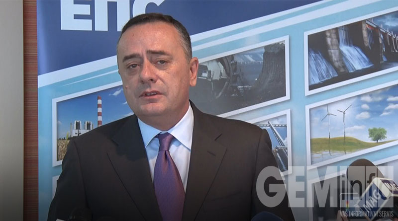 Aleksandar Antić, ministar rudarstva i energetike