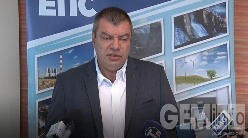 Milorad Grčić, v.d. direktora JP EPS-a
