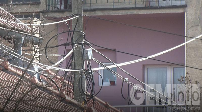 Problem električnog kabla u ulici Dušana Petrovića Šana u Rudovcima