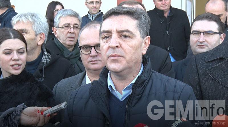 Slobodan Adamović, predsednik opštine Barajevo