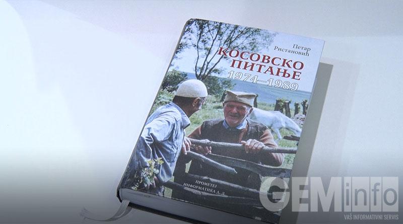 naslovna strana knjige kosovsko