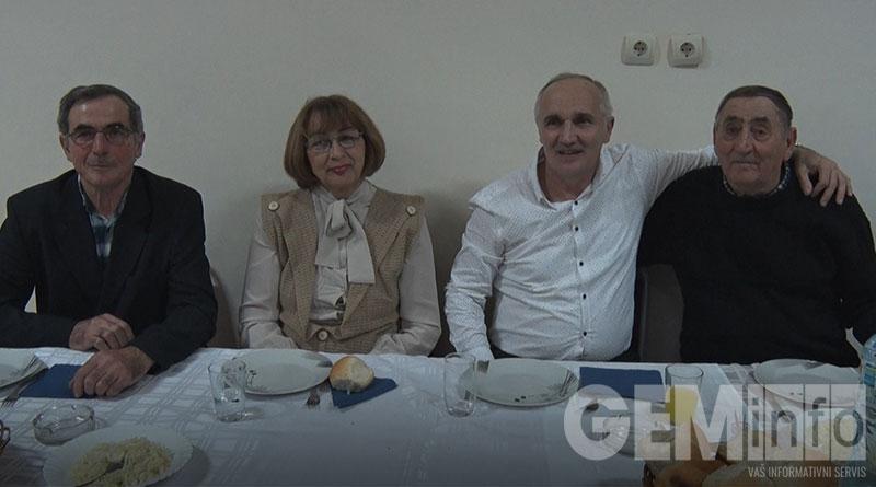 Članovi Udruženja penzionera Novi Medoševac