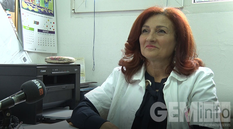 Gordana Kulić glavna sestra