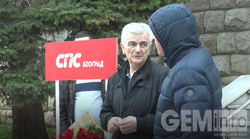 Štand Socijalističke partije Srbije