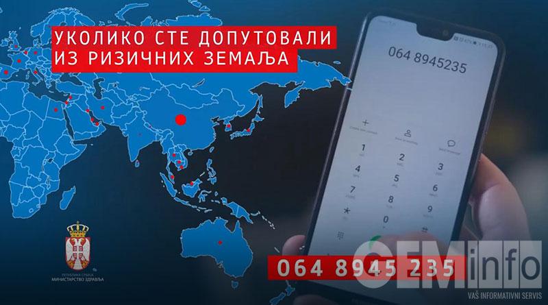 Covid 19 - Broj telefona