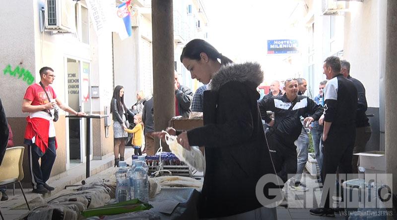 Akcija Ujedinjenih za Lazarevac organizovana na otvorenom