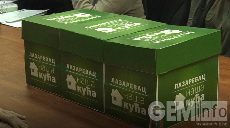 Kutije, Lazarevac naša kuća
