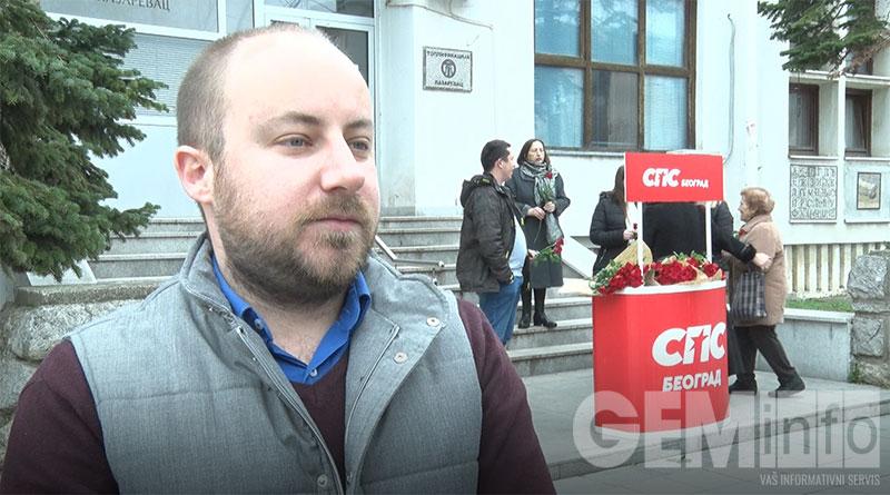 Marko Mijušković, predsednik omladine SPS Lazarevac