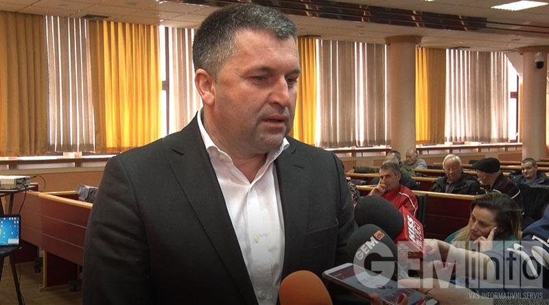 Milinko Veličković, gradski sekretar za privredu