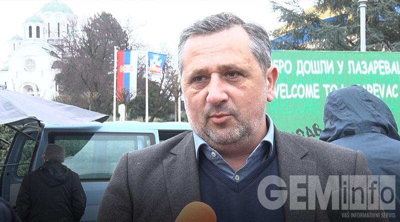 Mirko Kovačević, direktor Turističke organizacije opštine Lazarevac