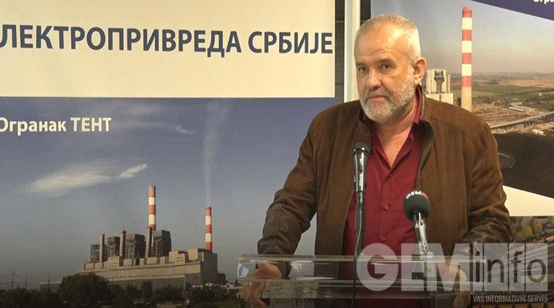 Milan Đorđević, predsednik sindikata JP EPS