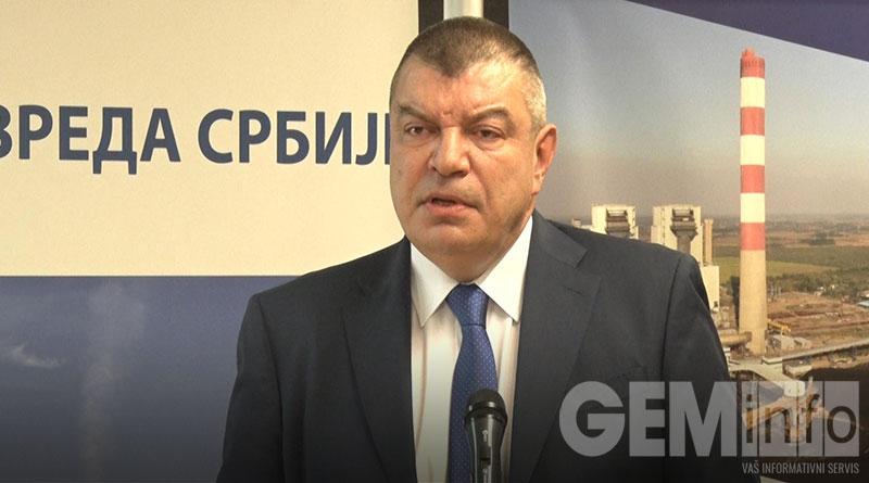 Milorad Grčić v.d. direktora JP EPS