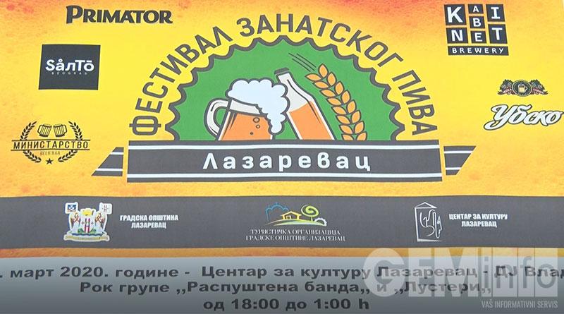 Odlaže se Festival zanatskog piva