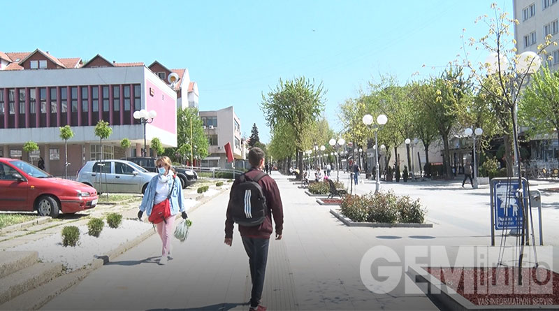 Glavna ulica u Lazarevcu