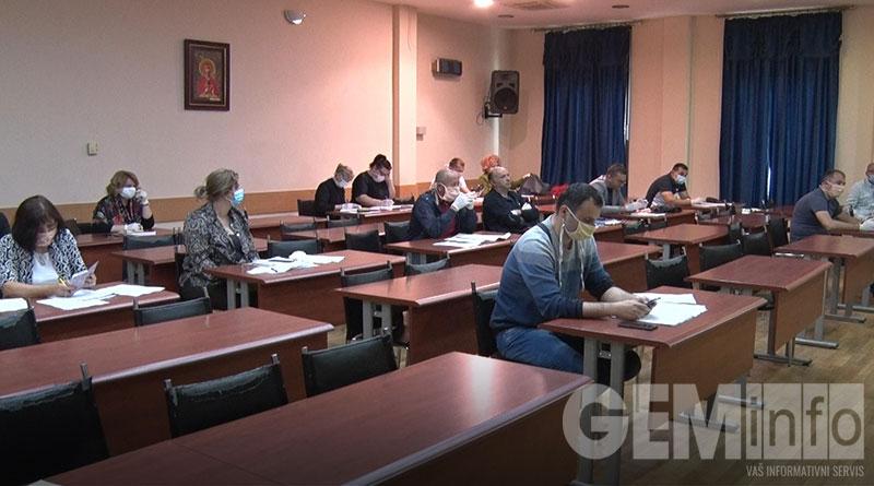 117. sednica Veća opštine Lajkovac