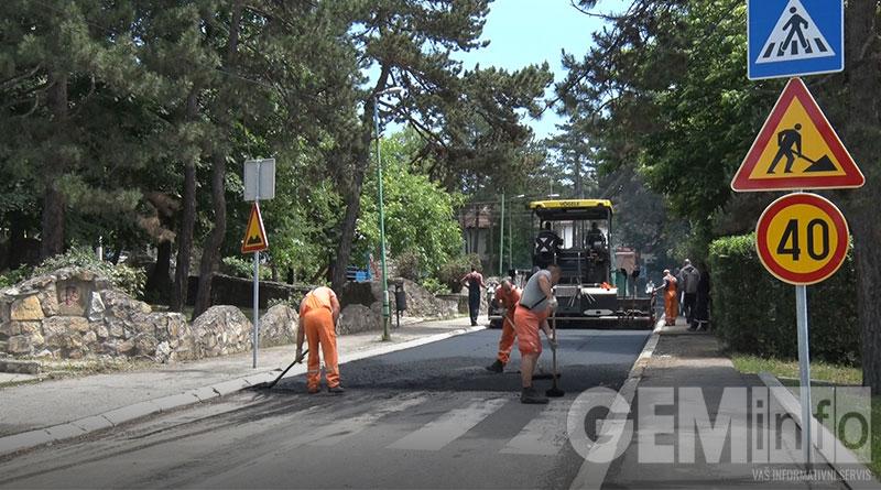 Radovi na asfaltiranju