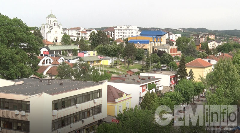 Lazarevac - Panorama