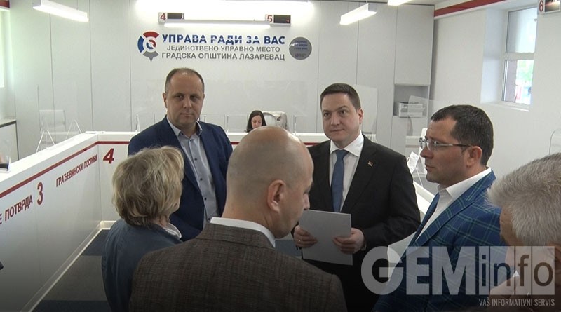 Opštinski servis građanima Lazarevca
