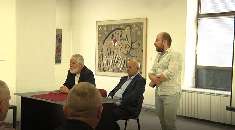 Toma i Šćepanović u Modernoj galeriji
