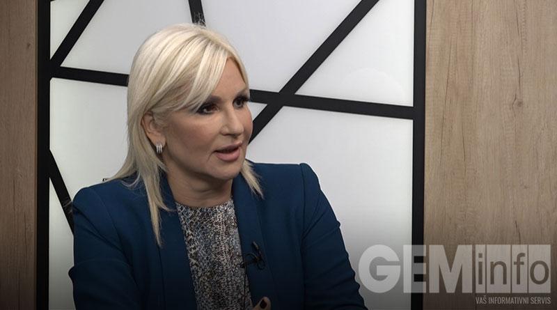 Zorana Mihailović, ministarka rudarstva i energetike