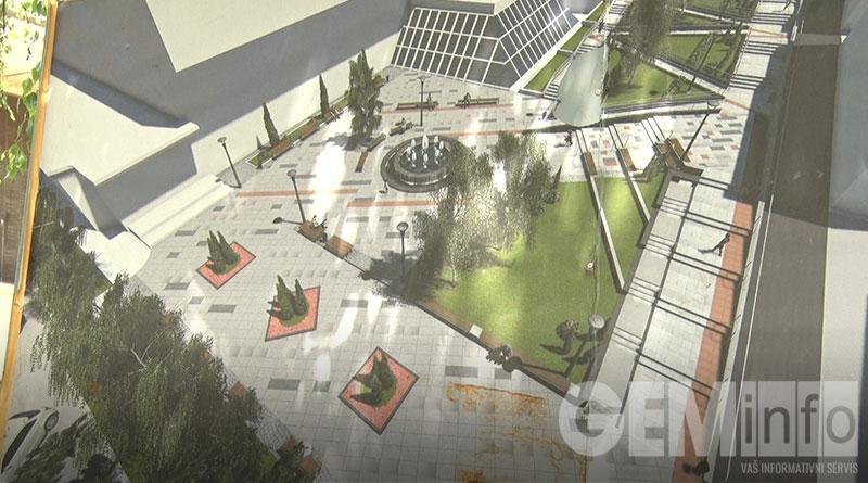 Izgled parka ispod Robne Kuće