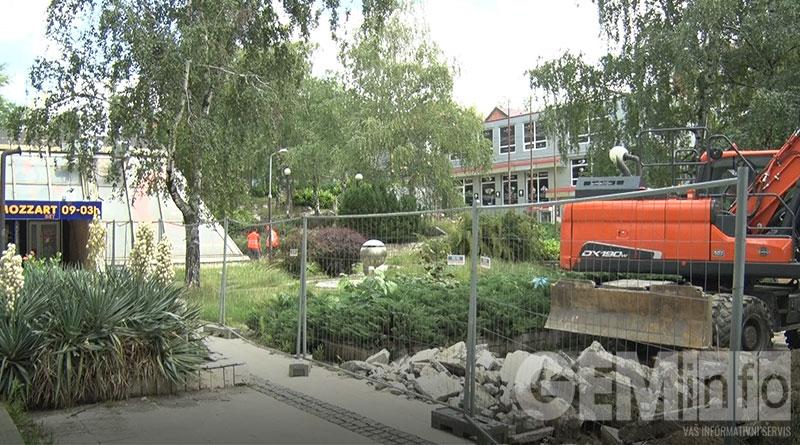 Počela rekonstrukcija parka