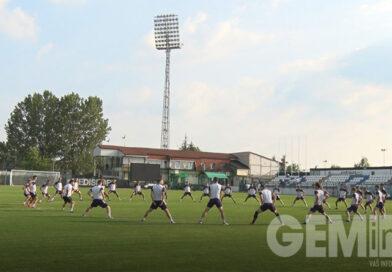 "Prvi trening FK ""Kolubara"" sa novim trenerom"