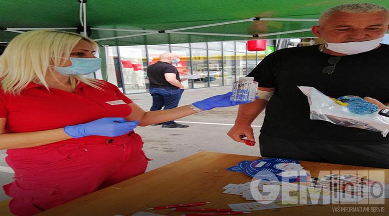 Akcija dobrovoljnog davalaštva krvi