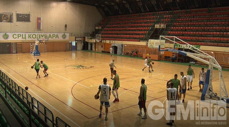 Košarkaši Kolubare na treningu