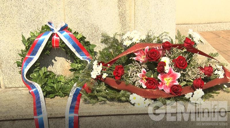 Položeni venci na Spomenik srpskom ratniku