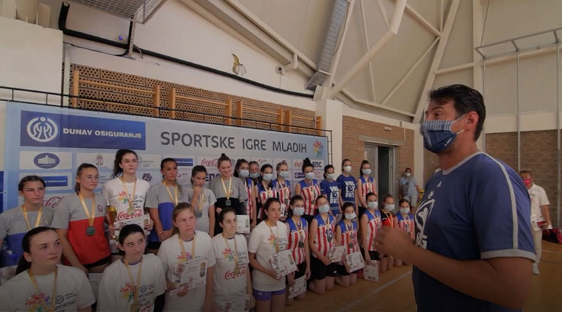 Grbić na Sportskim igrama mladih