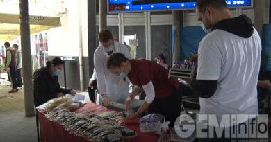 UG Ujedinjeni za Lazarevac organizovalo 19. akciju dobrovoljnog davalaštva krvi