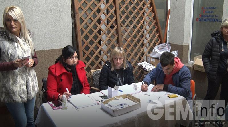 Aktivisti UG Ujedinjeni za Lazarevac