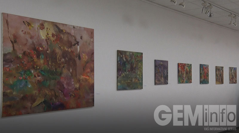 Mile Šaula, izložba u Lazarevcu