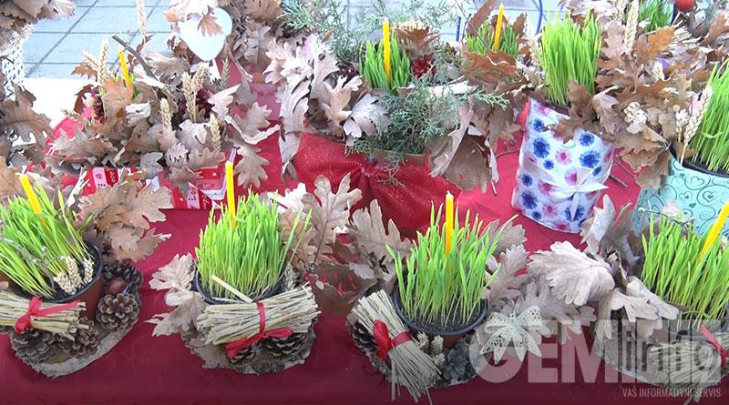 Božićne ikebane