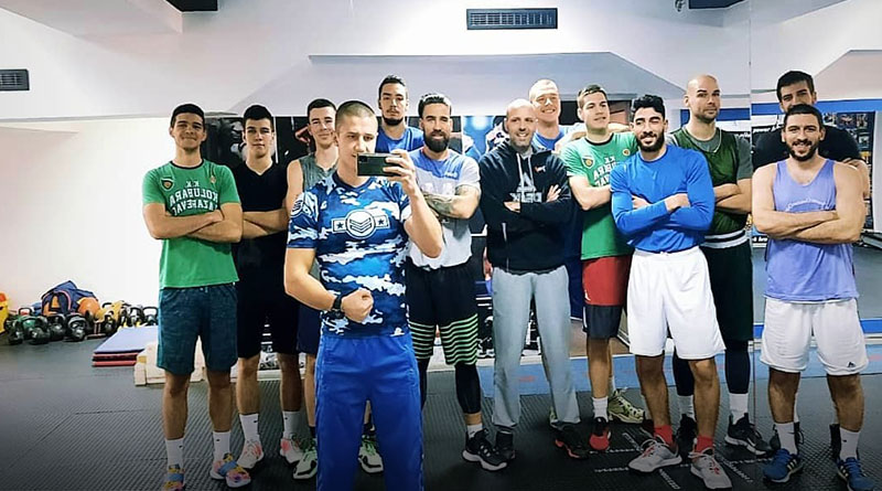 Košarkaši Kolubare