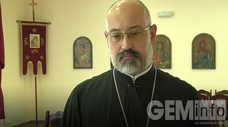 Marko Mitić, starešina Hrama Svetog Velikomučenika Dimitrija