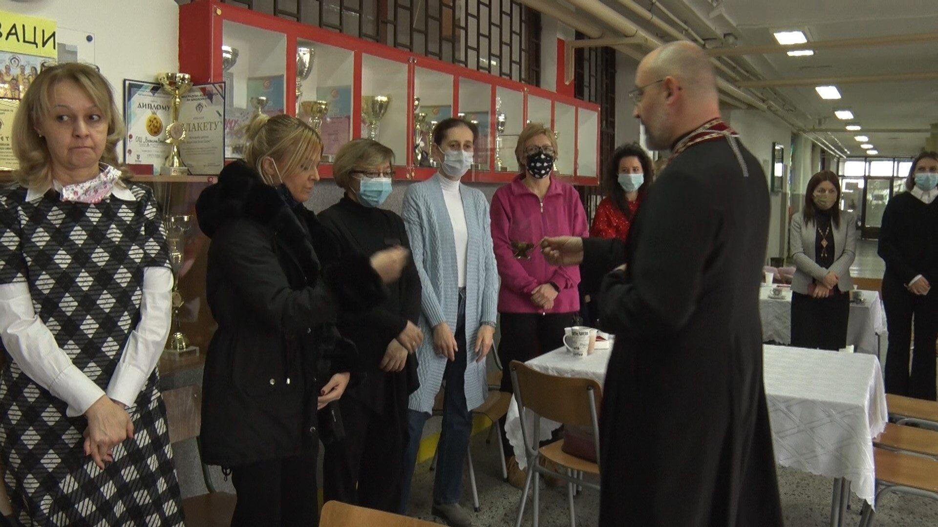 Obeležavanje školske slave Svetog Save u Vokinoj školi