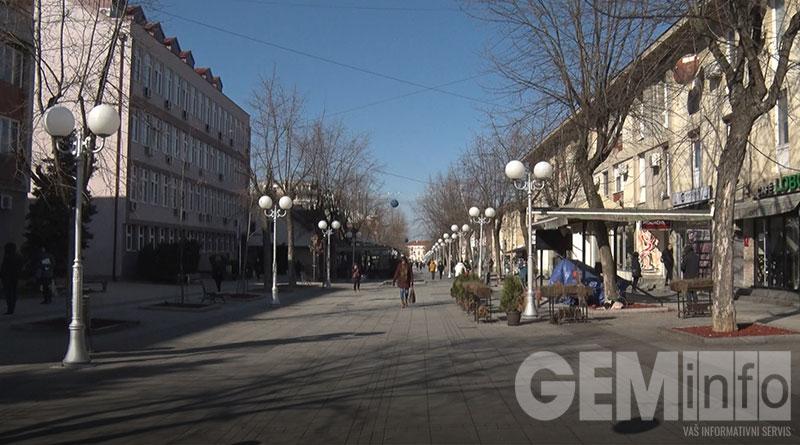 Lazarevac, glavna ulica