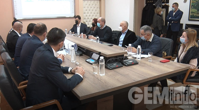 Sastanak gradonačelnika Radojičića sa čelnicima GO Lazarevac