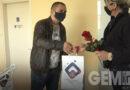 Pokloni za koleginice od Nezavisnog sindikata policije u Lazarevcu