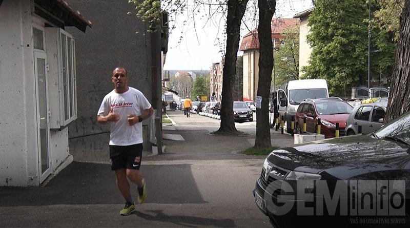 Ultramaratonac Aleksandar Kikanović