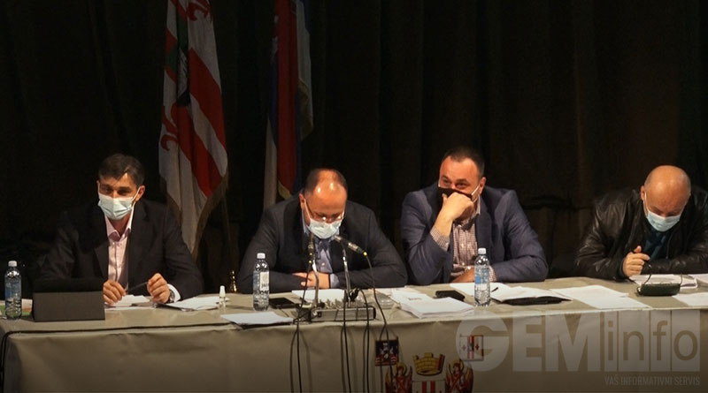 Skupština, zasedanje u Lazarevcu