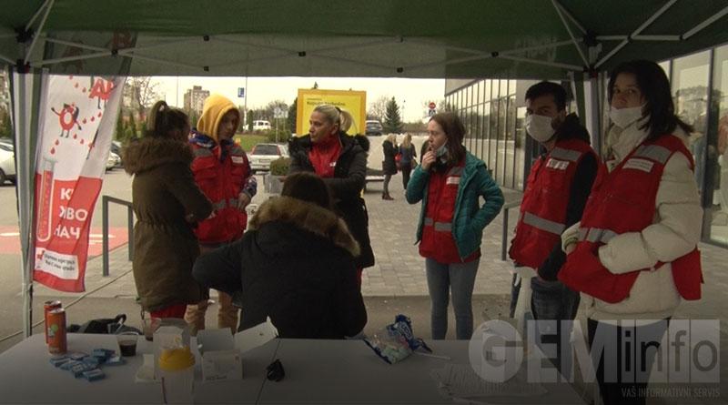 Volonteri Crvenog krsta u Lazarevcu