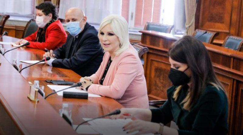 Zorana Mihajlović sa Sindikatom EPS-a o unapređenju kolektivnog ugovora i poboljšanju prava radnika