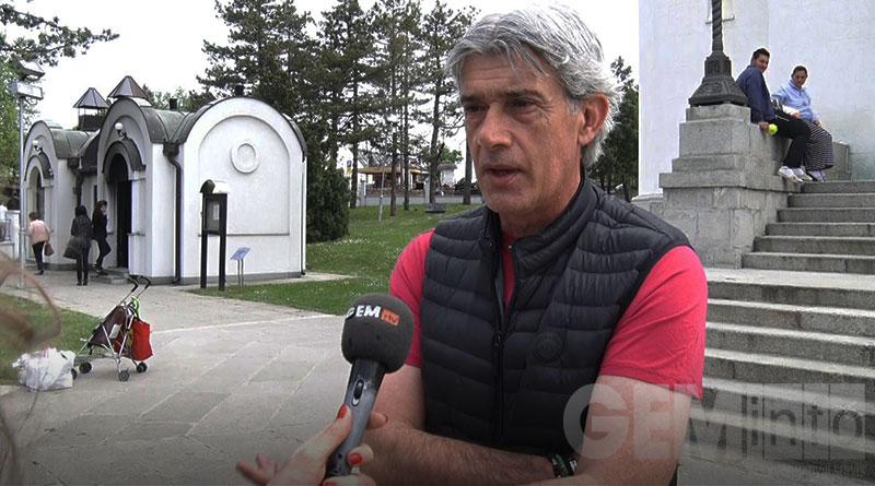 "Zoran Milinković. trener FK ""Kolubara"""
