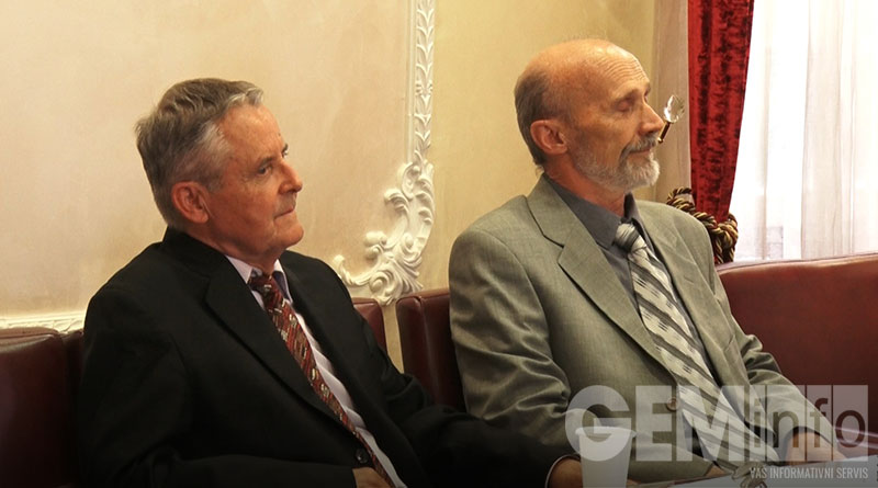 Dragan Mihajlović i Milan Stojić, autori knjige