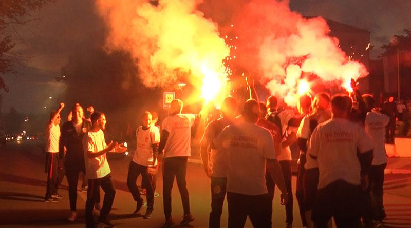 Slavlje fudbalera Borca